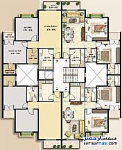 Ad Photo: Apartment 2 bedrooms 2 baths 89 sqm super lux in Rehab City  Cairo