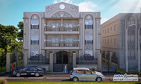 Ad Photo: Apartment 3 bedrooms 1 bath 201 sqm semi finished in El Ubour City  Qalyubiyah