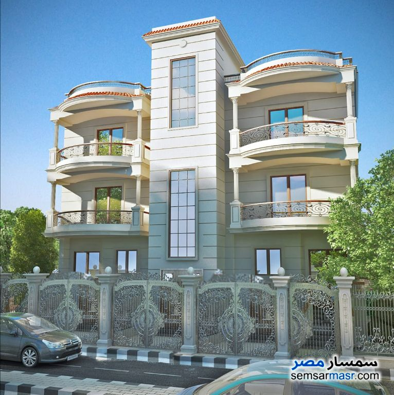 Ad Photo: Villa 3 bedrooms 3 baths 206 sqm semi finished in El Ubour City  Qalyubiyah