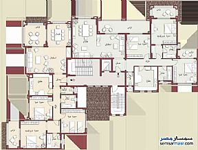 Ad Photo: Apartment 3 bedrooms 3 baths 208 sqm super lux in Madinaty  Cairo