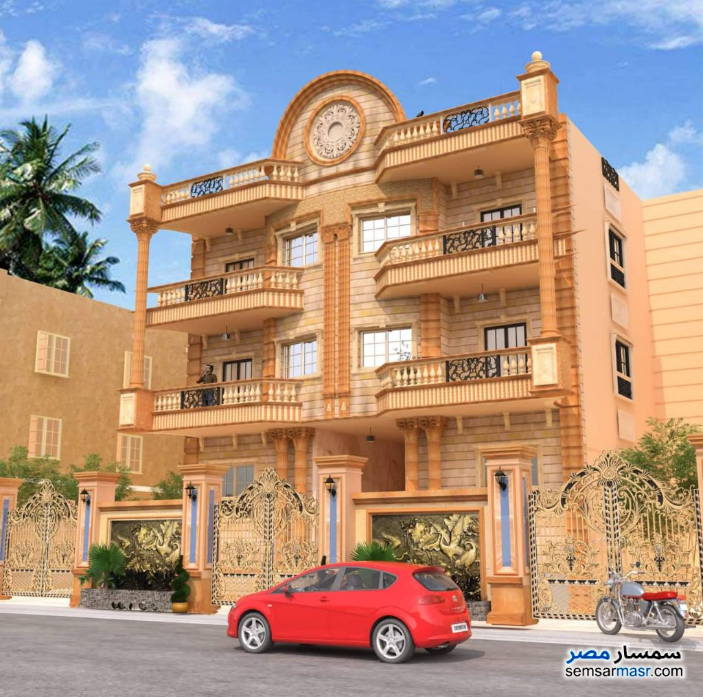 Photo 1 - Apartment 3 bedrooms 3 baths 210 sqm semi finished For Sale El Ubour City Qalyubiyah