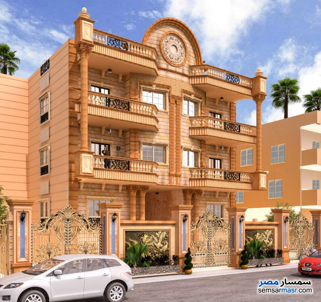 Photo 3 - Apartment 3 bedrooms 3 baths 210 sqm semi finished For Sale El Ubour City Qalyubiyah