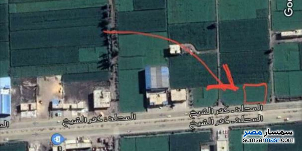 Photo 2 - Land 525 sqm For Sale Kafr Al Sheikh City Kafr El Sheikh
