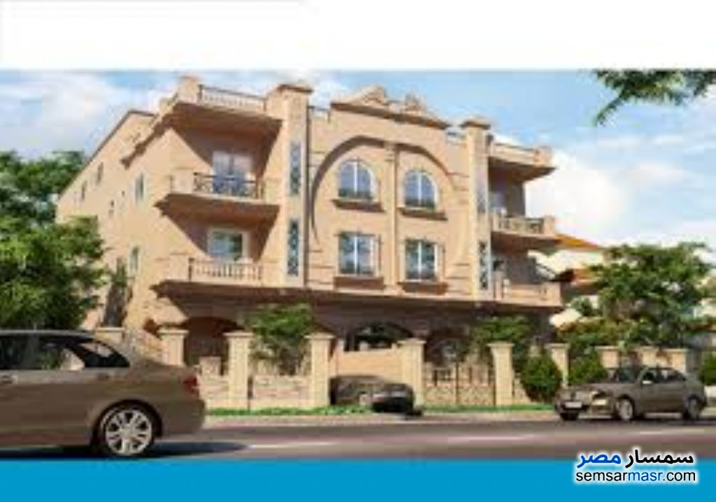 Ad Photo: Apartment 4 bedrooms 3 baths 420 sqm semi finished in El Ubour City  Qalyubiyah