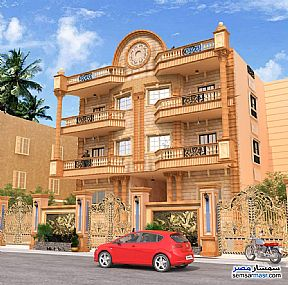Ad Photo: Apartment 2 bedrooms 2 baths 450 sqm semi finished in El Ubour City  Qalyubiyah