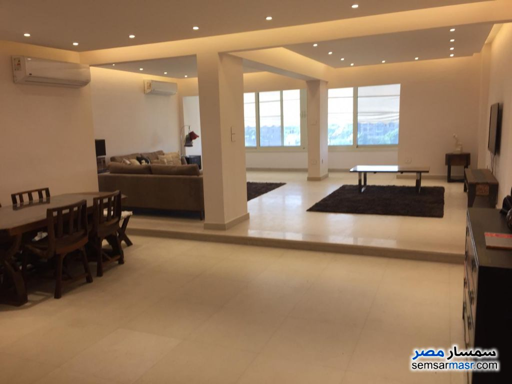 Photo 1 - Apartment 160m Nile view for rent in Zamalek For Rent Dokki Giza