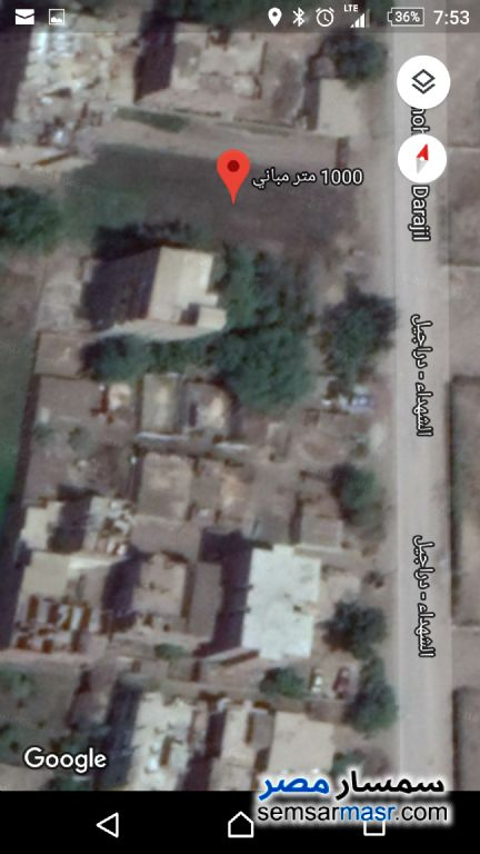 Photo 4 - Building Land 1000 m for sale in Elshohadaa / Minufiah For Sale Shuhada Minufiyah
