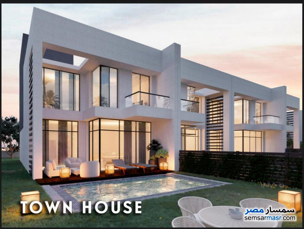 Ad Photo: Villa 5 bedrooms 3 baths 265 sqm semi finished in Palm Hills  6th of October
