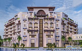 Ad Photo: Apartment 3 bedrooms 2 baths 137 sqm extra super lux in New Capital  Cairo