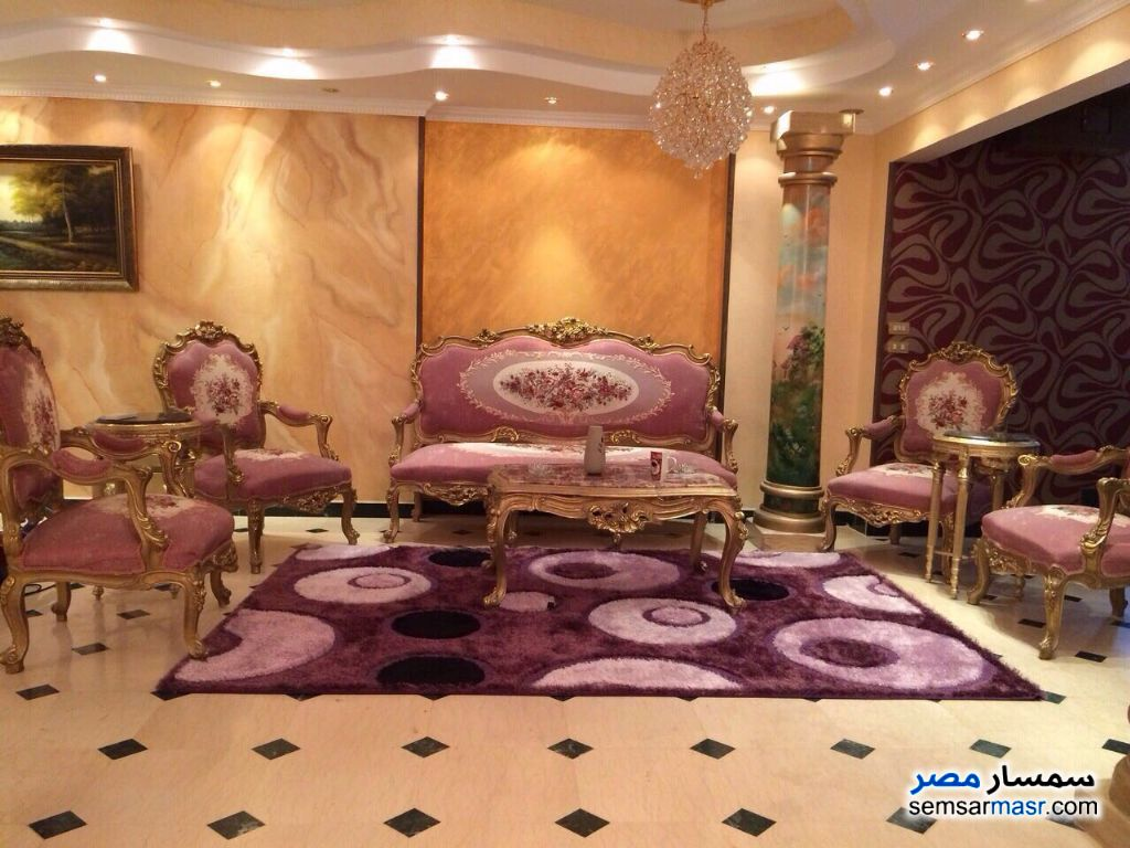 Photo 3 - Apartment 3 bedrooms 3 baths 250 sqm extra super lux For Rent Mohandessin Giza