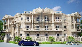 Ad Photo: Apartment 3 bedrooms 2 baths 200 sqm semi finished in Shorouk City  Cairo